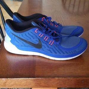 Nike Free 50, barefoot ride running
